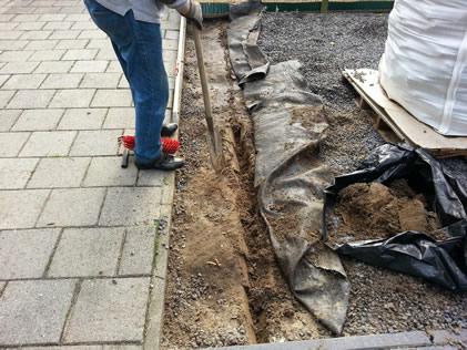 Kurkvloer verwijderen